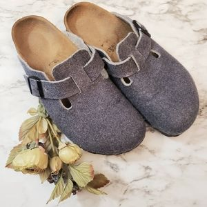 Birkenstock Clog Wool 7-7.5 Great Condition
